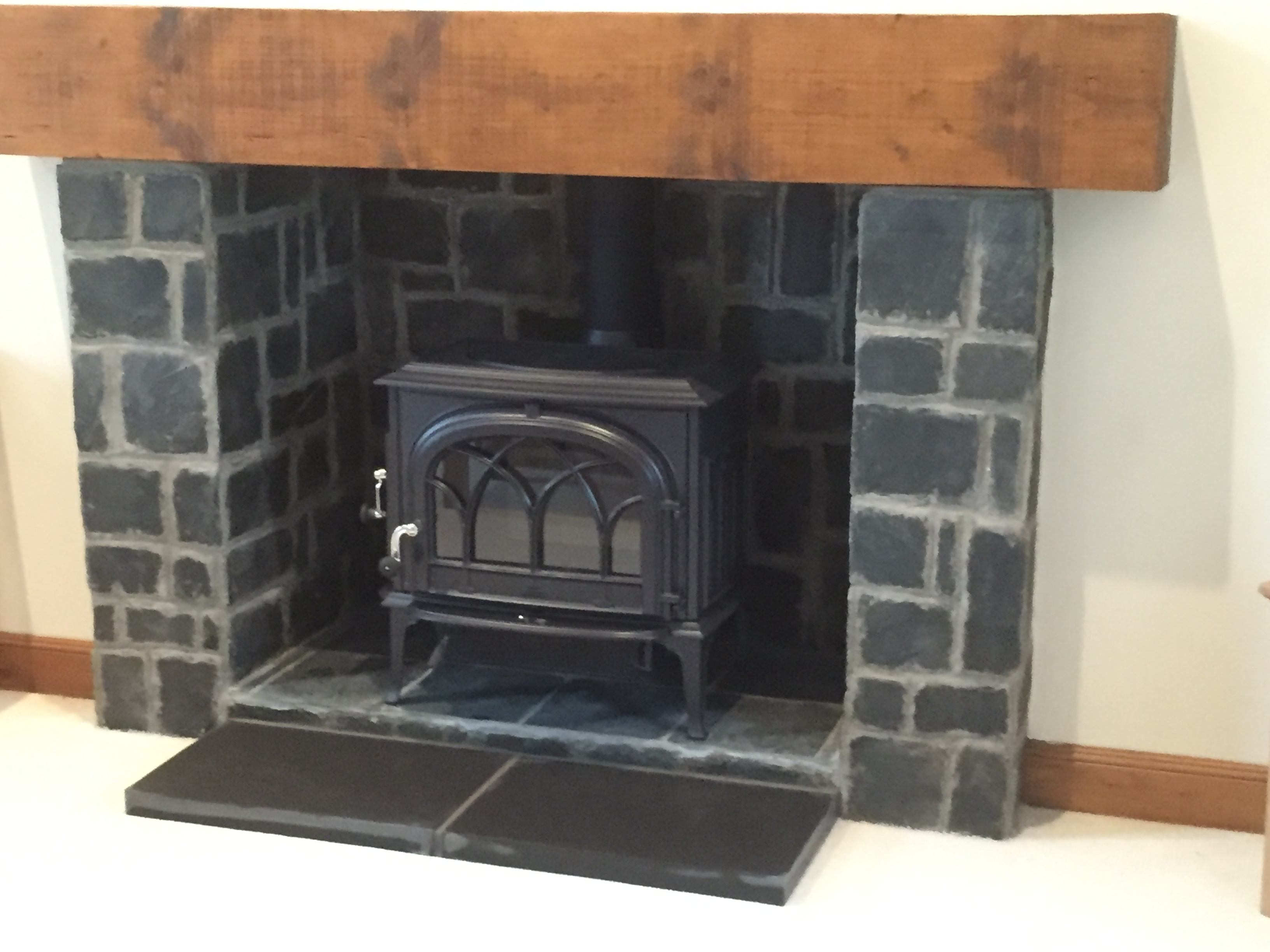 Jotul F500 Blue Black