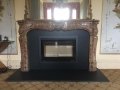 Spatherm Linear 900 & Victorian Marble Surround