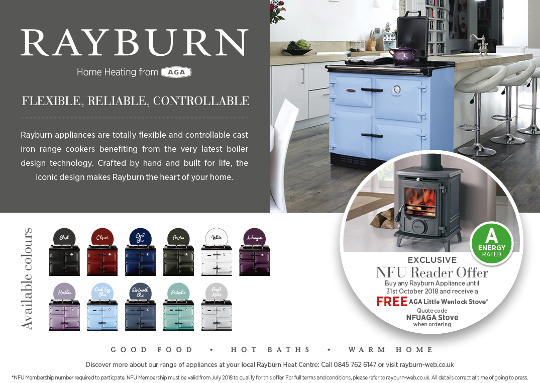 FREE Aga Little Wenlock Stove with every Rayburn purchased until 31st October 2018